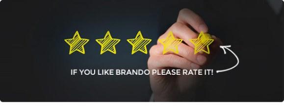 Brando Responsive and Multipurpose OnePage WordPress Theme - 24