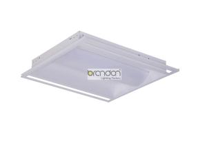 LED troffer lighting