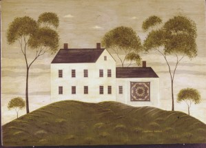 House with Quilt