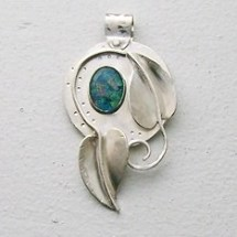 Botanical Pendant in Sterling