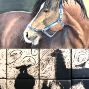 """""""Home Grown, Pasture Raised"""": art from the farm."""