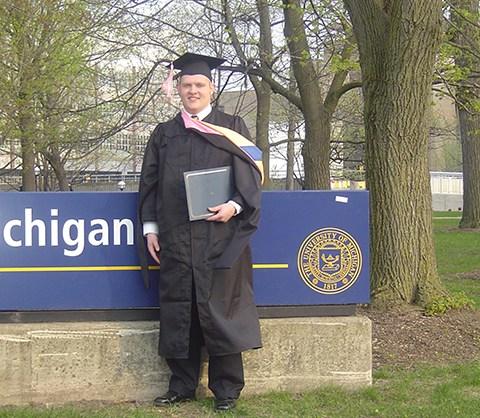 Brandon Bascom Univ, of Michigan