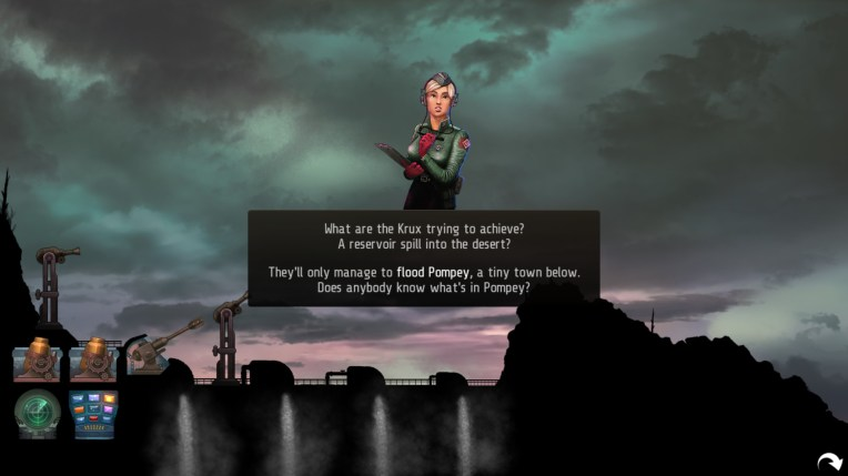The early part of this game focuses on fighting around this dam.
