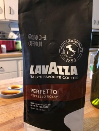 The coffee bag