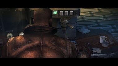 One of the hardest bosses in the game: The Espresso Machine.