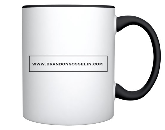 BG Two-Sided Print Mug Back
