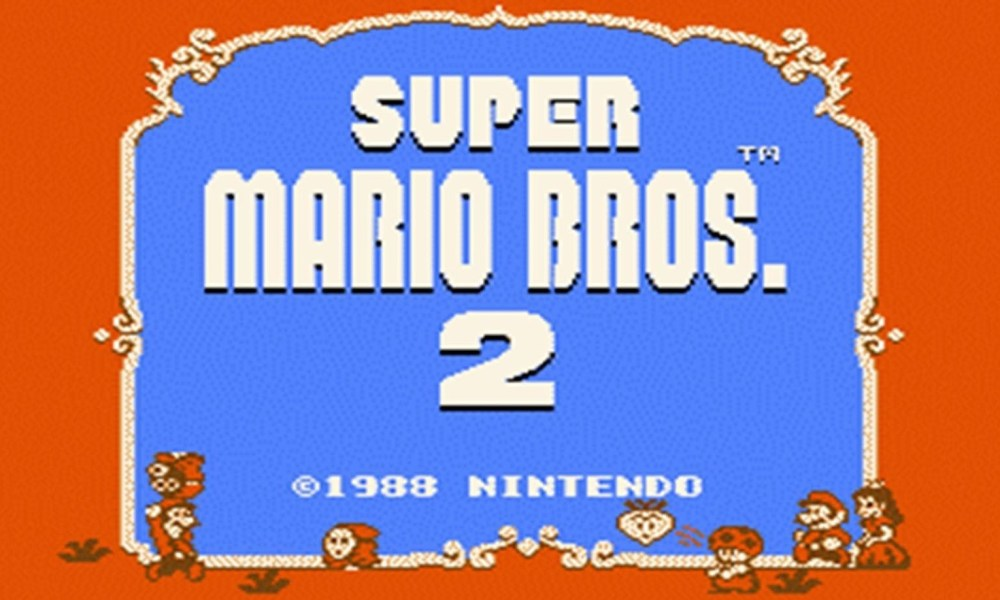 Child S Play Undying Love For Super Mario Bros 2 Usa Brandon