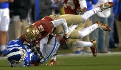 Jalen Ramzey clobbers a Duke receiver