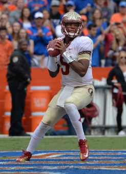 Jameis throws out of his own endzone