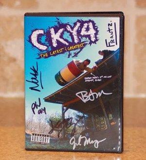Brandon Novak CKY4 Autographed DVD