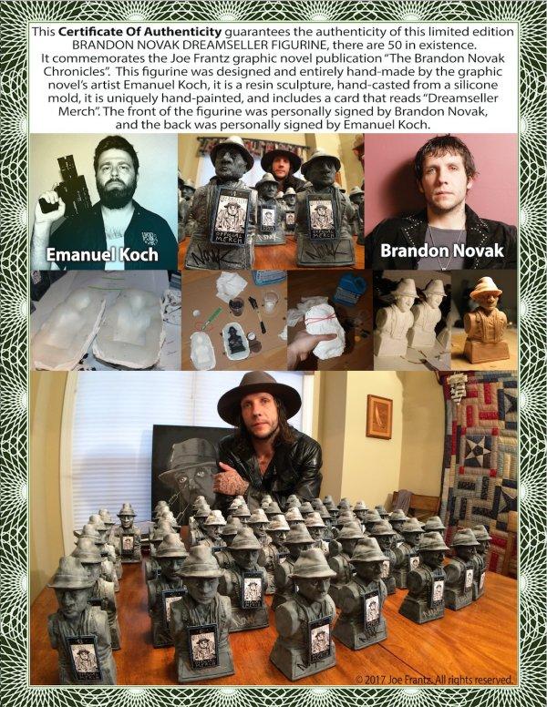 Brandon Novak Figurines