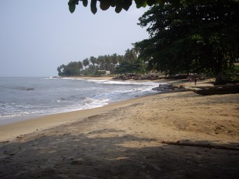 This is Kribi. I would literally do anything to be able to take a vacation to this beach city again in the future. It's one of the few areas in the world where a freshwater river drops off a waterfall directly into the ocean. And it's beautiful.