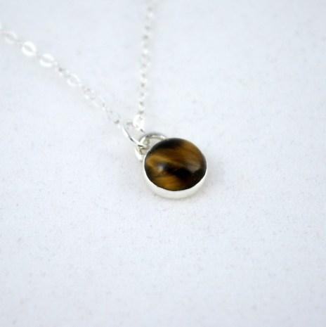 necklace_tigereye_simple_8mm