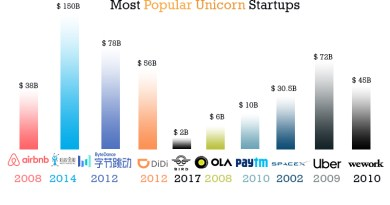 Most Popular Unicorn Startup