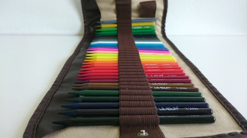 BEST Woodless Colored Pencils for Artists - FREE-Canvas-Roll-Bag2