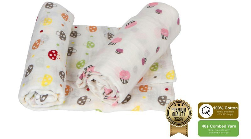 Amazrock Best Swaddle Blanket Series - Fun Pink