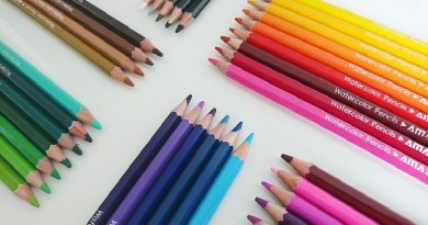 Water Soluble Colored Pencil Set by Amazrock