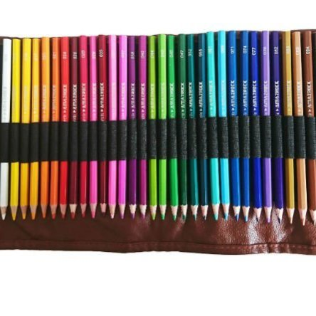 Amazrock Watercolor Pencils Set – 36 Colors (Soft Core Special Edition) | Water Soluble Artist Colored Pencils |