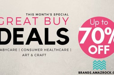 This month's Specials : Amazrock Brands - Great Buy Deals