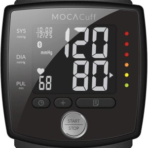 MOCACuff Bluetooth Blood Pressure Monitor, Fully Automatic Accurate Wrist, FDA