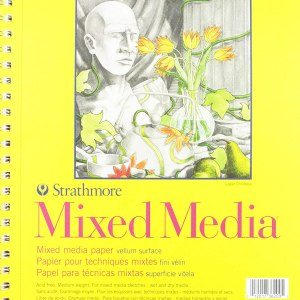 Strathmore (362-9) 300 Series Mixed Media Pad 9x12inch 40 Sheets