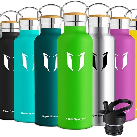 Super Sparrow Stainless Steel Vacuum Insulated Water Bottle | Standard Mouth Leak Proof Thermoflask
