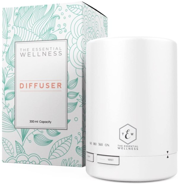 The Essential Wellness - Ultrasonic Essential Oil Diffuser