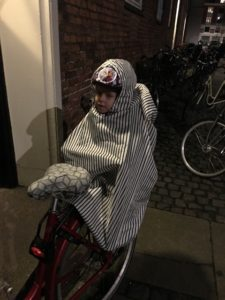 Sy selv barnecykelstols regnovertræk