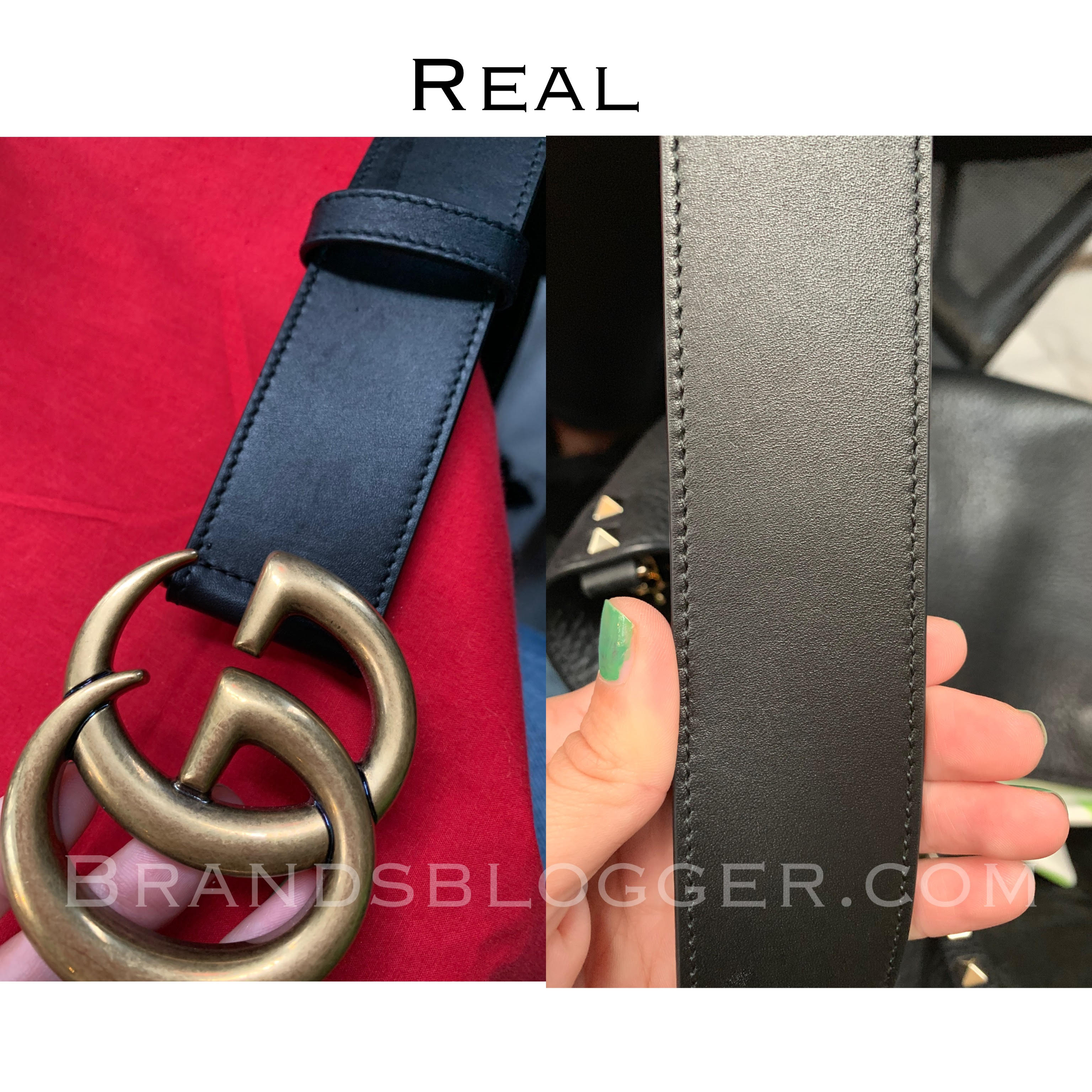 e16255ed998 How To Spot A Fake Double G Gucci Belt - Brands Blogger