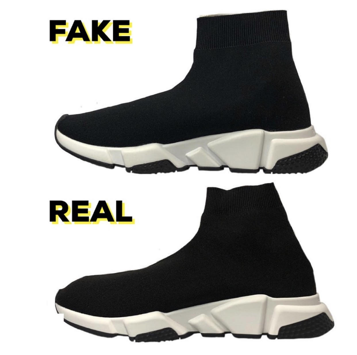 Brands Spot To Balenciaga Speed Fake How Blogger Jquspvglmz Trainers O8kn0wPZNX