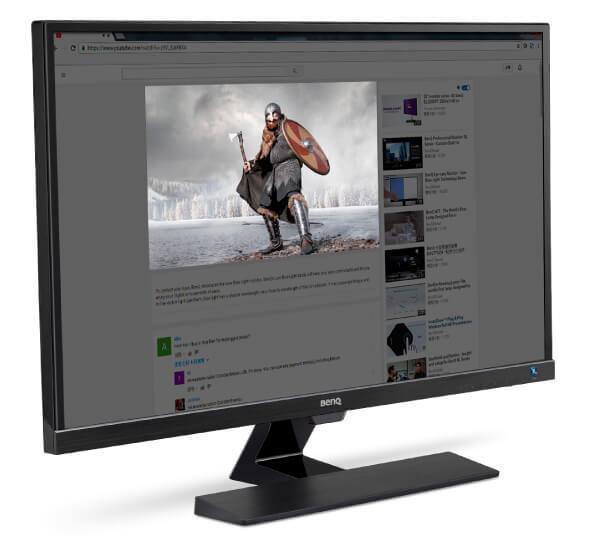 Monitor przyjazny dla oczu od BenQ – recenzja ew3270zl specialized modes
