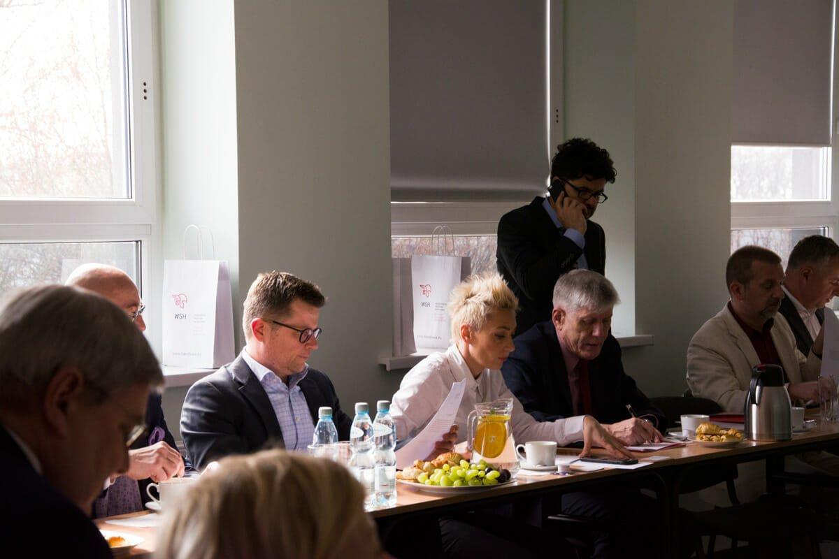 WSH  Uczelnie stawiają na e-biznes – WSH z Radą biznesu DSC 0690