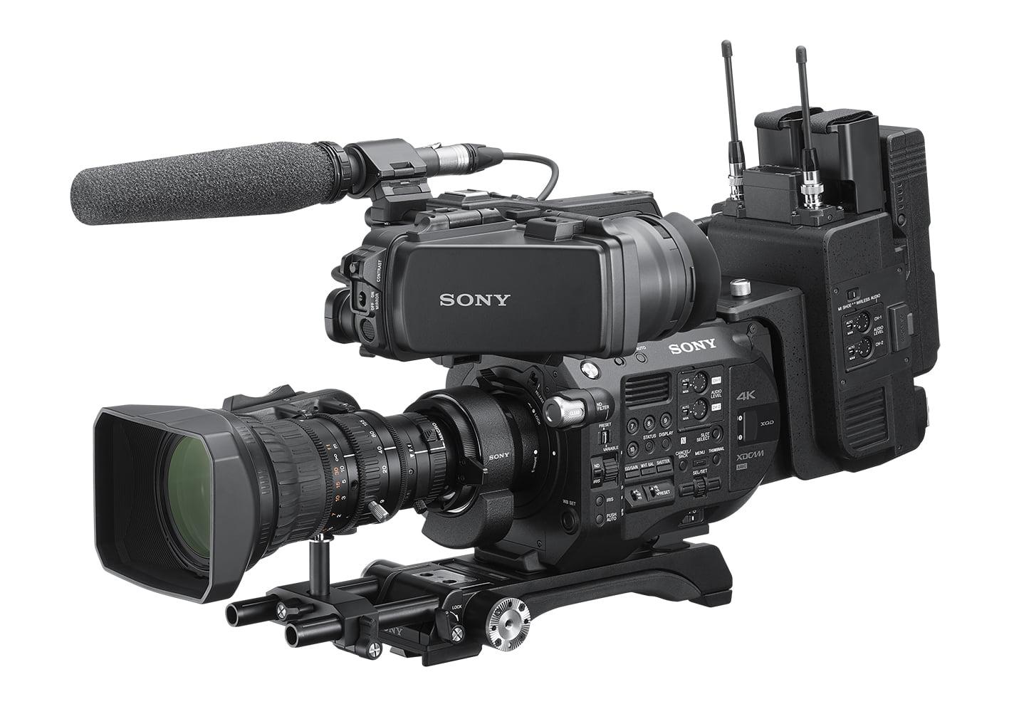 Sony CBK-FS7BK ibc 2019 IBC 2019: Co zaprezentuje Sony? Sony CBK FS7BK withLA EBI