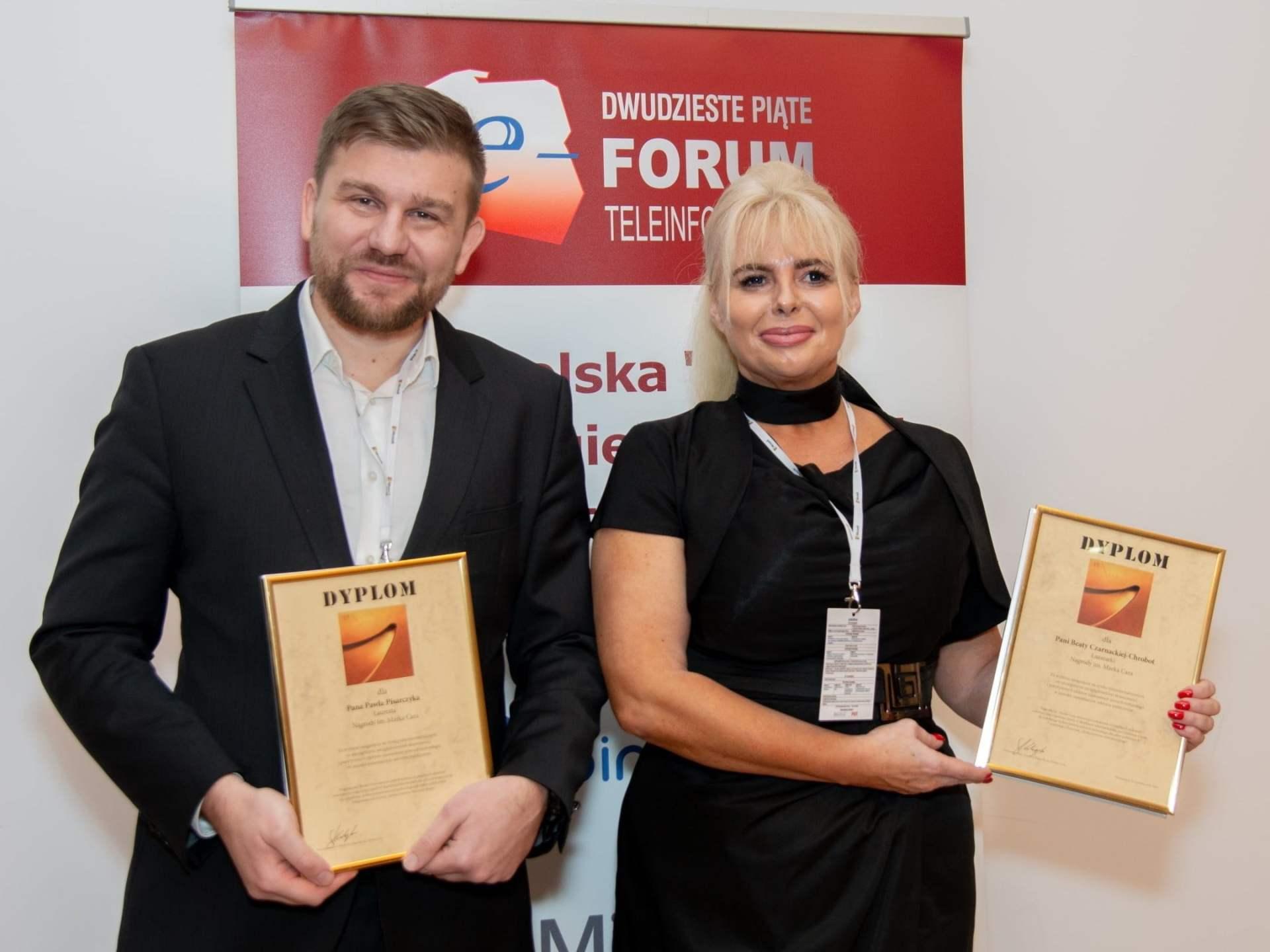forum teleinformatyki, nagroda, laureaci