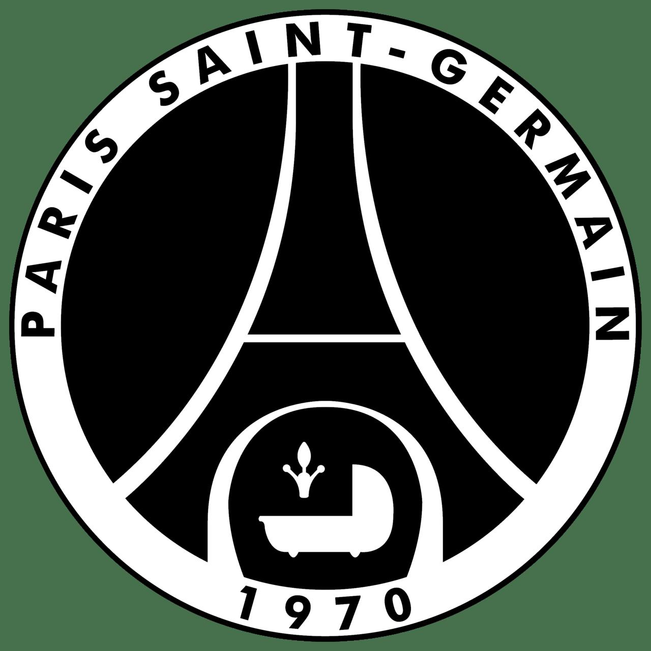 psg logo black and white brands logos