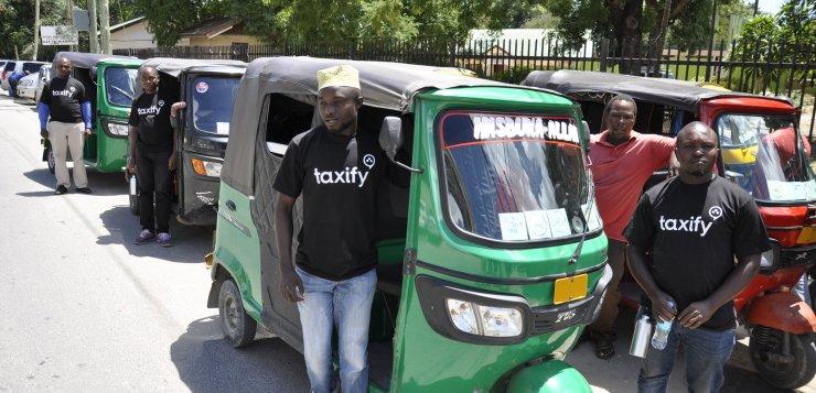 Taxify Bajaji Launches In Dar Es Salaam