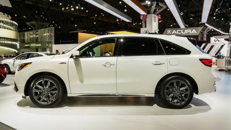 Acura MDX ASpec Debuts At New York Auto Show Pictures - Acura mdx 20 inch wheels