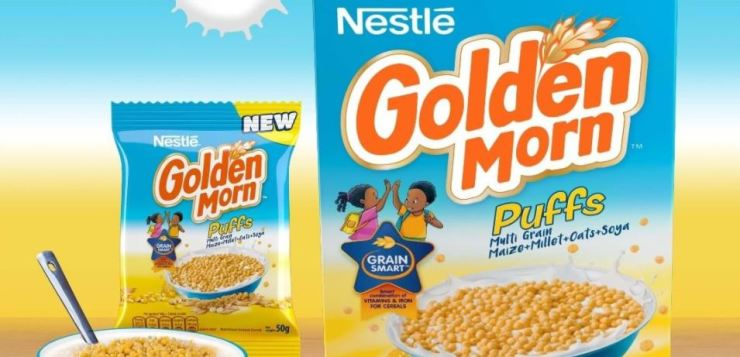 nestle cereals golden cereal code