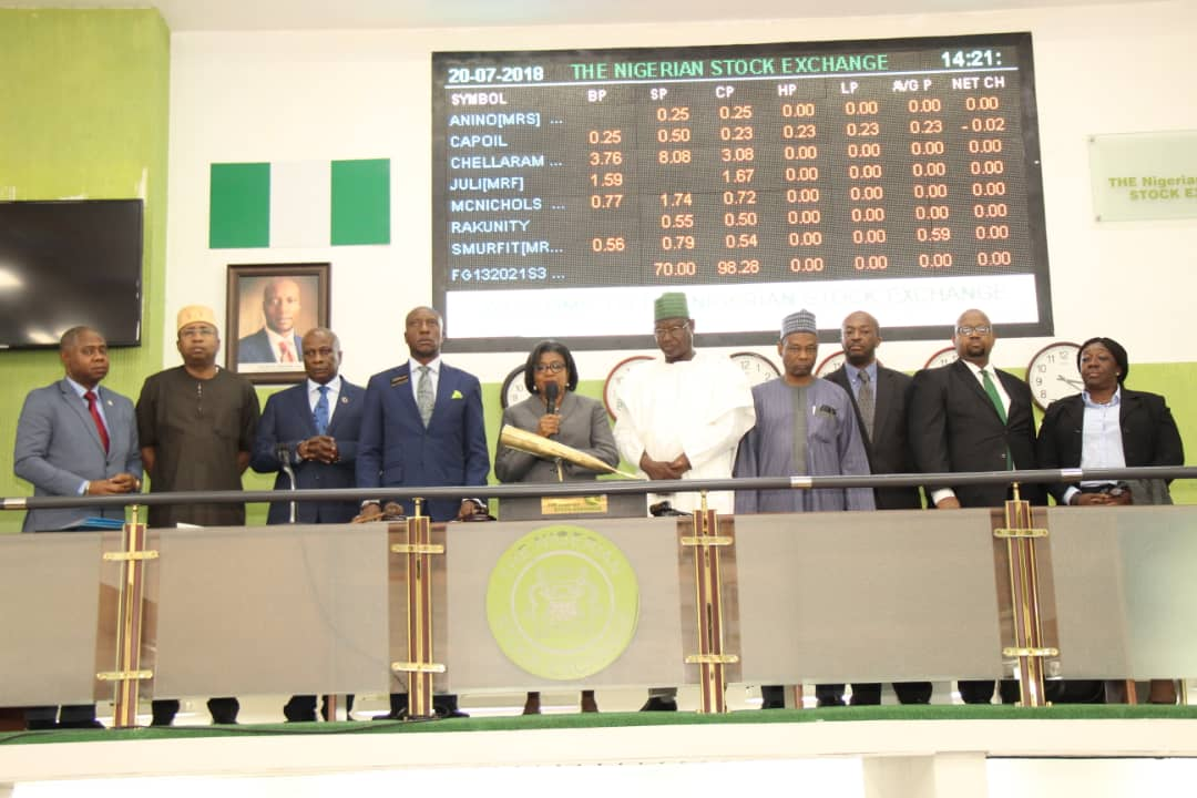 Official Ceremony Dmo Lists Debut N1069 Billion Green Bond On The