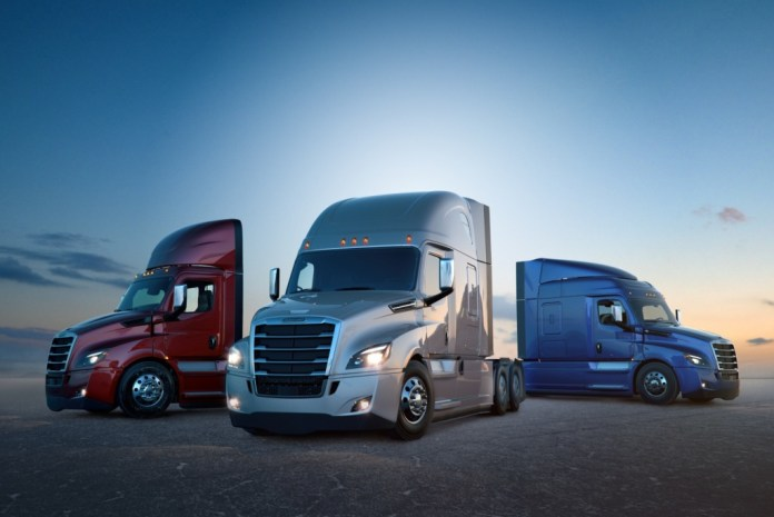 Daimler Trucks delivers 50.000th Freightliner New Cascadia - Brand Spur