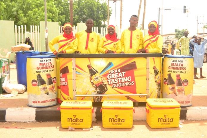 DurbarFestival: Malta Guinness, Official Malt Drink in Sokoto, Zaria - Brand Spur