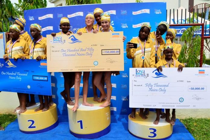 Loya Milk, Nigeria Aquatics Federation Partner on Swimming Development (Pictures) - Brand Spur