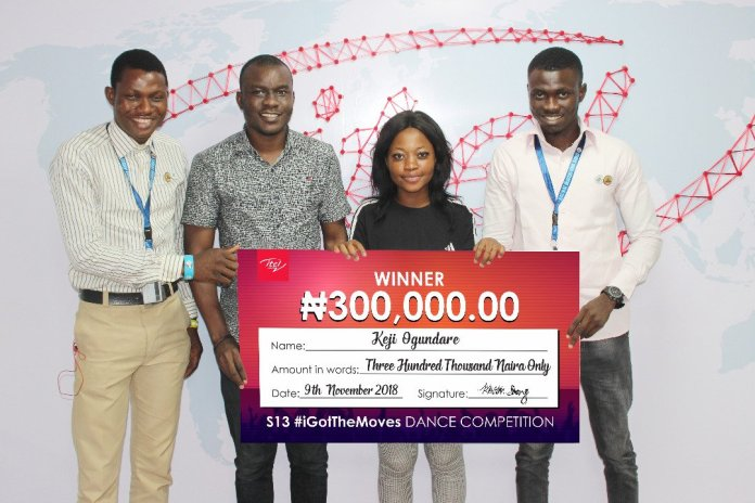 ITEL Rewards Students With 500,000 After Dance Competition (Photos) - Brand Spur