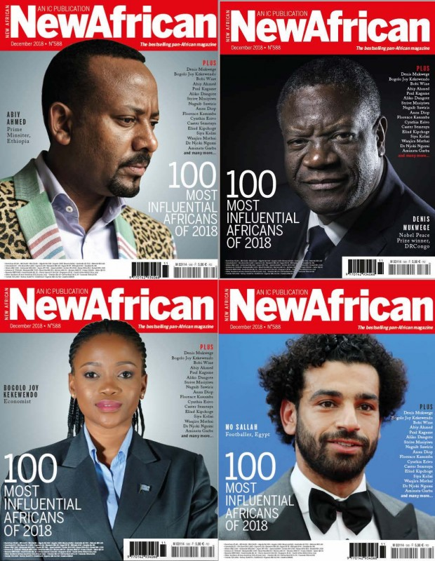 New African Magazine's list of 100 Most Influential Africans - Brand Spur