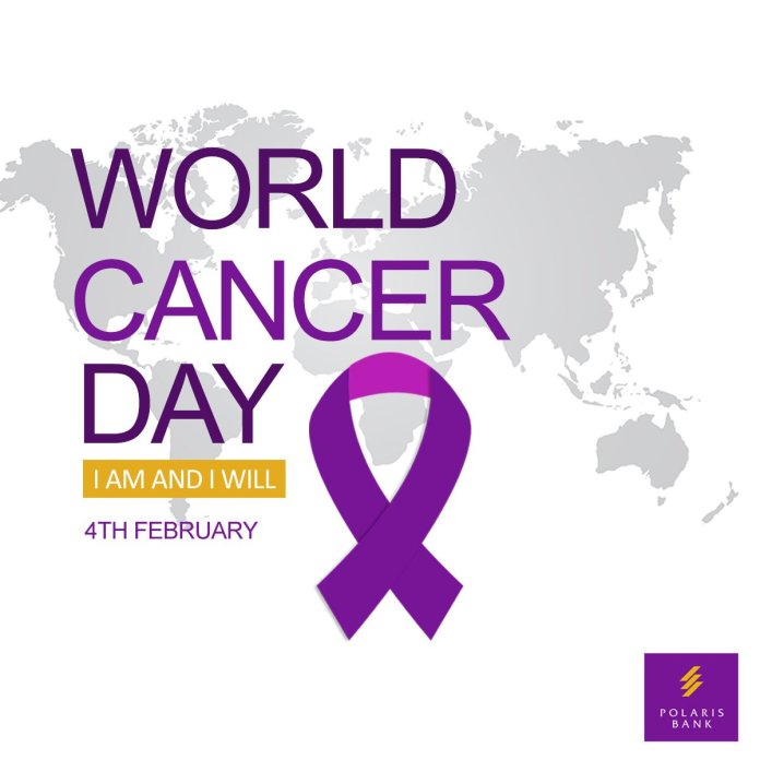 World Cancer Day: Polaris Bank Advocates Adherence To Healthy Lifestyle - Brand Spur