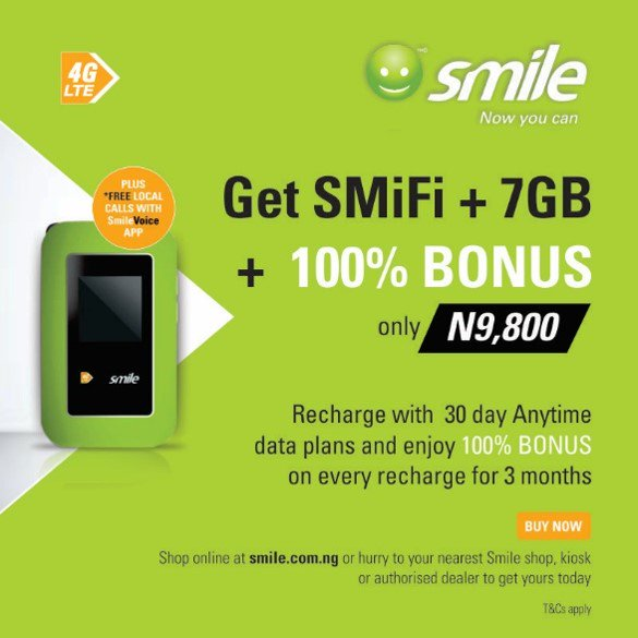 Smile excites customers with new device, bonus offers - Brand Spur