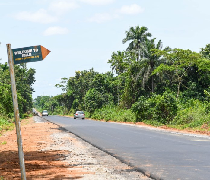 ODSG fixes crucial Igbara Oke - Ibuji - Ekiti Boundary Road (PHOTOS) - Brand Spur