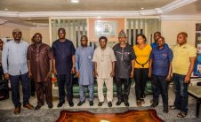 Trade Union Congress of Nigeria, Ondo State Chapter paid a courtesy visit to Ondo State Deputy Governor, Hon. Agboola Ajayi brand spur nigeria2