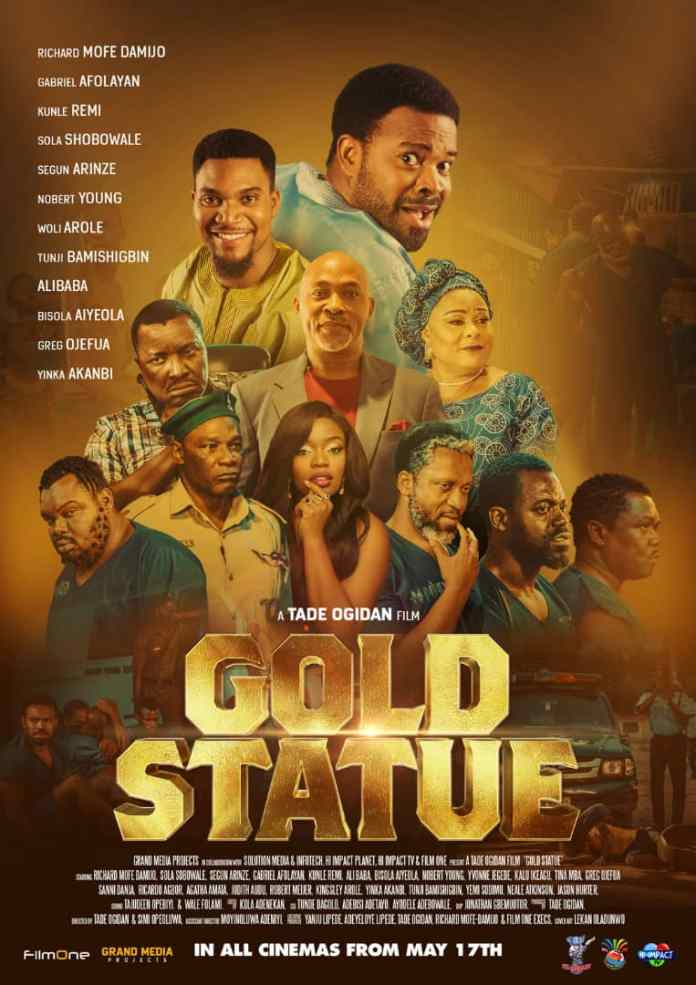 Desperate Search for The Goldmine: Review of Gold Statue The Movie - Brand Spur