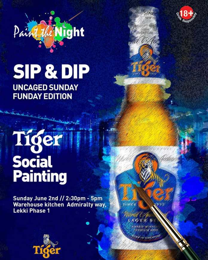 Be a part of Tiger Beer Social Painting Party (Photos) - Brand Spur